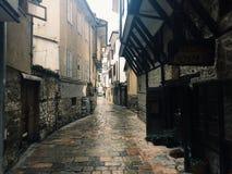 Straßen von Ohrid Stockbild
