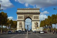 Straßen von Paris stockbilder