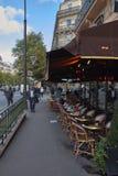 Straßen von Paris stockfotografie