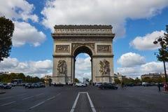 Straßen von Paris stockfoto