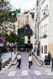 Straßen von Paris Lizenzfreie Stockbilder