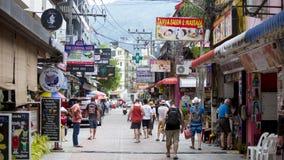 Straßen von Patong lizenzfreie stockbilder