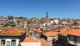 Straßen von Porto Portugal im Sommer stockfoto