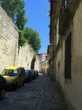 Straßen von Porto Portugal im Sommer lizenzfreie stockfotografie