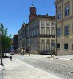 Straßen von Porto Portugal im Sommer stockfotos