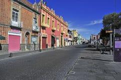 Straßen von Puebla-Stadt, Mexiko Lizenzfreie Stockfotografie