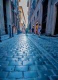 Straßen von Rom Stockfotos