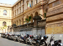 Straßen von Rom Stockbilder