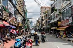 Straßen von Saigon lizenzfreie stockfotos