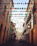 Straßen von Salvador, Brasilien Lizenzfreies Stockfoto
