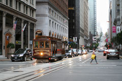 Straßen von San Francisco Lizenzfreie Stockbilder