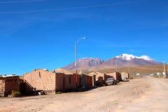 Straßen von San Pedro de Atacama Stockfotos
