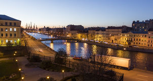 Straßen von St Petersburg Lizenzfreie Stockbilder