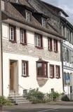 Straßen von Stein am Rhein Lizenzfreies Stockbild