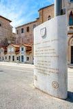 Straßen von Trogir 4 Stockfotos