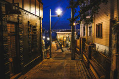 Straßen von ValparaÃso Stockfotos