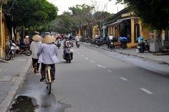 Straßen von Vietnam Stockfotos