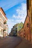 Straßen von Vilnius Stockbilder