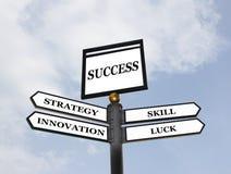 Straßen zum Erfolg Lizenzfreie Stockbilder