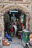 Straßenansicht Ägyptens Kairo Stockbild