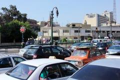 Straßenansicht Ägyptens Kairo stockfotografie