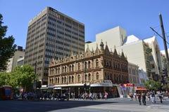 Straßenansicht in Adelaide stockbild