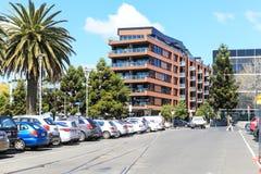 Straßenansicht in geelong, Australien lizenzfreies stockfoto