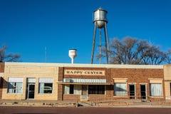 Straßenansicht in glückliches, TX stockfotografie