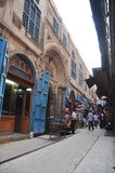 Straßenansicht in Kairo Lizenzfreie Stockfotos