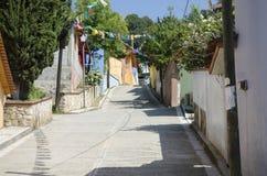 Straßenansicht in Mexiko Lizenzfreie Stockfotografie