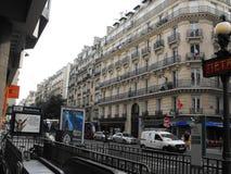 Straßenansicht Paris Stockfoto