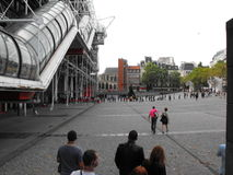 Straßenansicht Paris lizenzfreies stockfoto