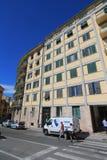Straßenansicht in Pisa, Italien Stockbild