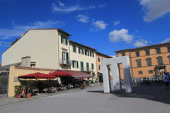 Straßenansicht in Pisa, Italien Stockfotografie