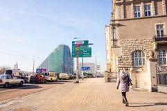 Straßenansicht in Posen Lizenzfreie Stockfotos