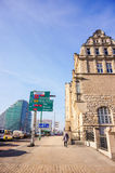 Straßenansicht in Posen Stockfotografie