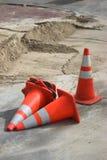 Straßenarbeit Lizenzfreies Stockbild
