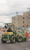 Straßenarbeit stockfoto