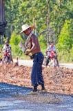 Straßenarbeitskräfte lizenzfreies stockfoto
