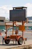 Straßenarbeitszeichen Stockbilder