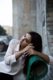 Straßenart des jungen Mädchens Lizenzfreie Stockfotos