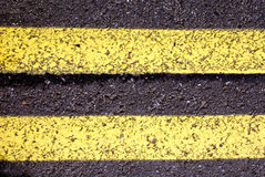 Straßenasphalt Lizenzfreies Stockfoto