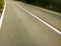 Straßenasphaltstreifen Lizenzfreies Stockbild