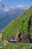 Straßenbahn DU Mont Blanc Stockfotos