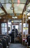Straßenbahn 28, Lissabon Stockbilder