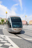 Straßenbahn in Nizza Lizenzfreie Stockfotografie