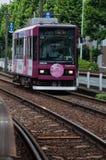 Straßenbahn Toden Arakawa Lizenzfreies Stockfoto