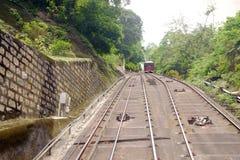 Straßenbahn Victorias zur Spitze Lizenzfreies Stockfoto