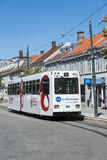 Straßenbahnwagen Trondheim Norwegen Lizenzfreies Stockfoto