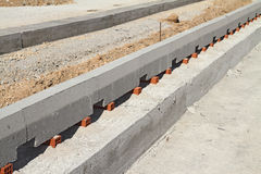 Straßenbau Stockfoto